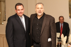 Commissioner George Longworth (left) with Actor Vincent D'Onofrio at the NYS Crime Stoppers Luncheon